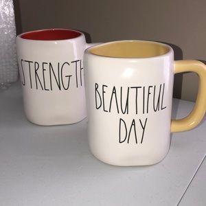Rae Dunn BEAUTIFUL DAY  Mug